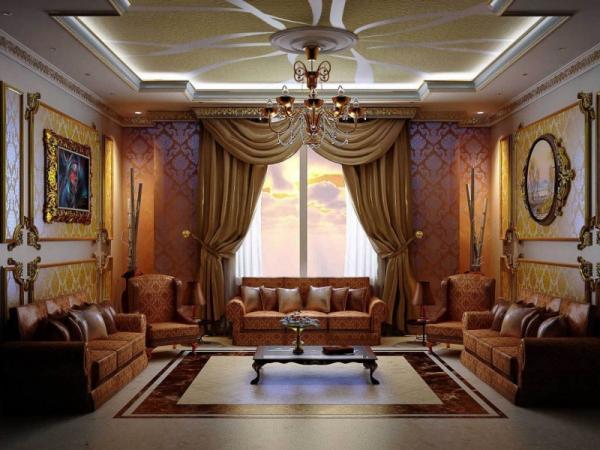 Арабский стиль для спальни - это настоящая роскошь