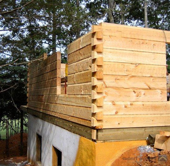 Все для строительства дома из бруса своими руками